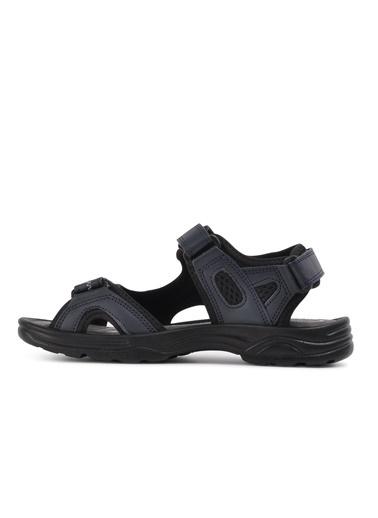 Castle Black K-3 Siyah Unisex Sandalet Lacivert